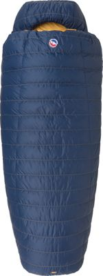 Big Agnes Summit Park 15 600 DownTek Long Sleeping Bag Navy - Long - Big Agnes Outdoor Accessories