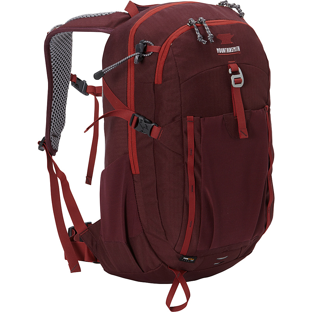 Mountainsmith Approach 25 Womens Hiking Backpack Huckleberry Mountainsmith Day Hiking Backpacks