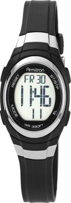 Armitron Womens Resin Watch Black - Armitron Watches