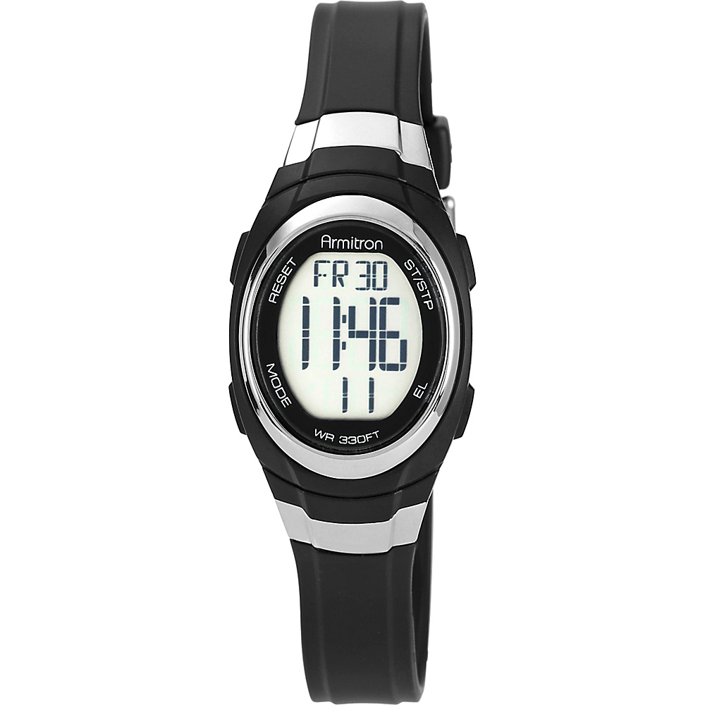 Armitron Womens Resin Watch Black Armitron Watches