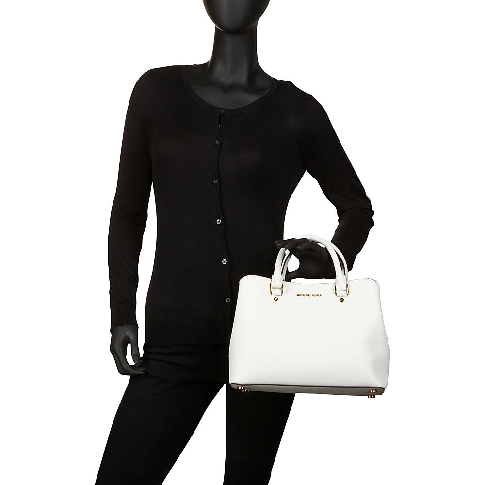 grossist online säljs över hela världen leta efter MICHAEL Michael Kors Savannah Medium Satchel 3 Colors Leather ...