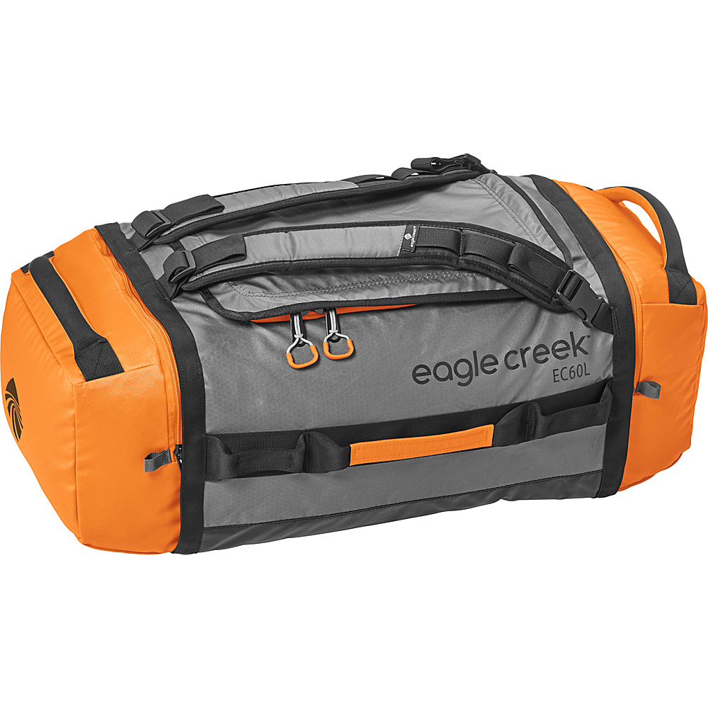 Eagle Creek Cargo Hauler Duffel 60L / M Orange/Grey - Eagle Creek Outdoor Duffels - Duffels, Outdoor Duffels