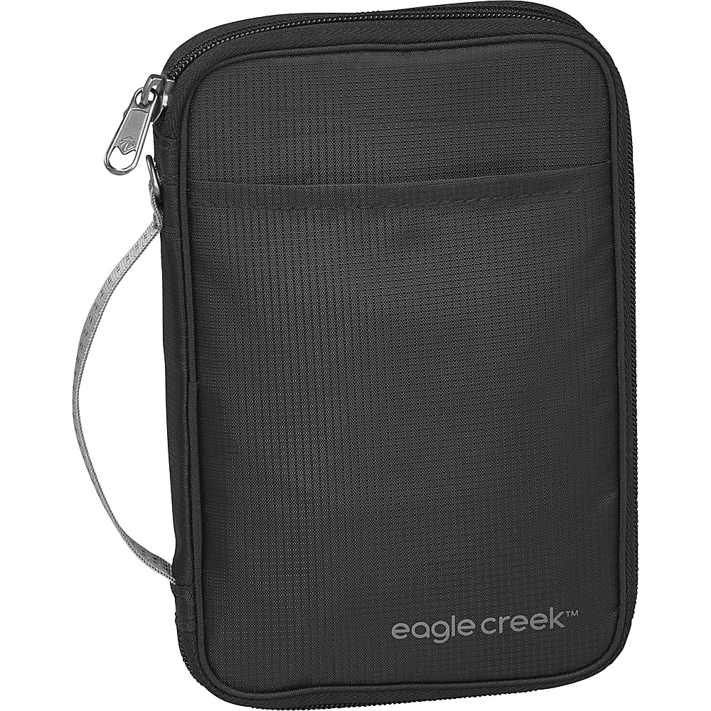 Eagle Creek RFID Travel Zip Organizer Black - Eagle Creek Travel Wallets - Travel Accessories, Travel Wallets