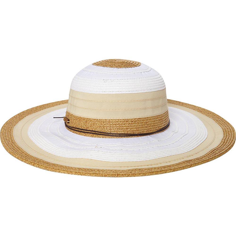 Caribbean Joe Accessories Montego Bay Hat White - Caribbean Joe Accessories Hats/Gloves/Scarves