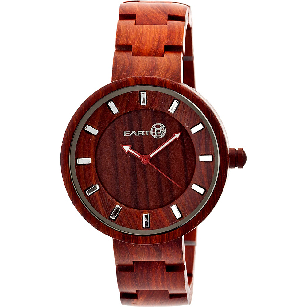 Earth Wood Branch Wood Unisex Watch Red Earth Wood Watches