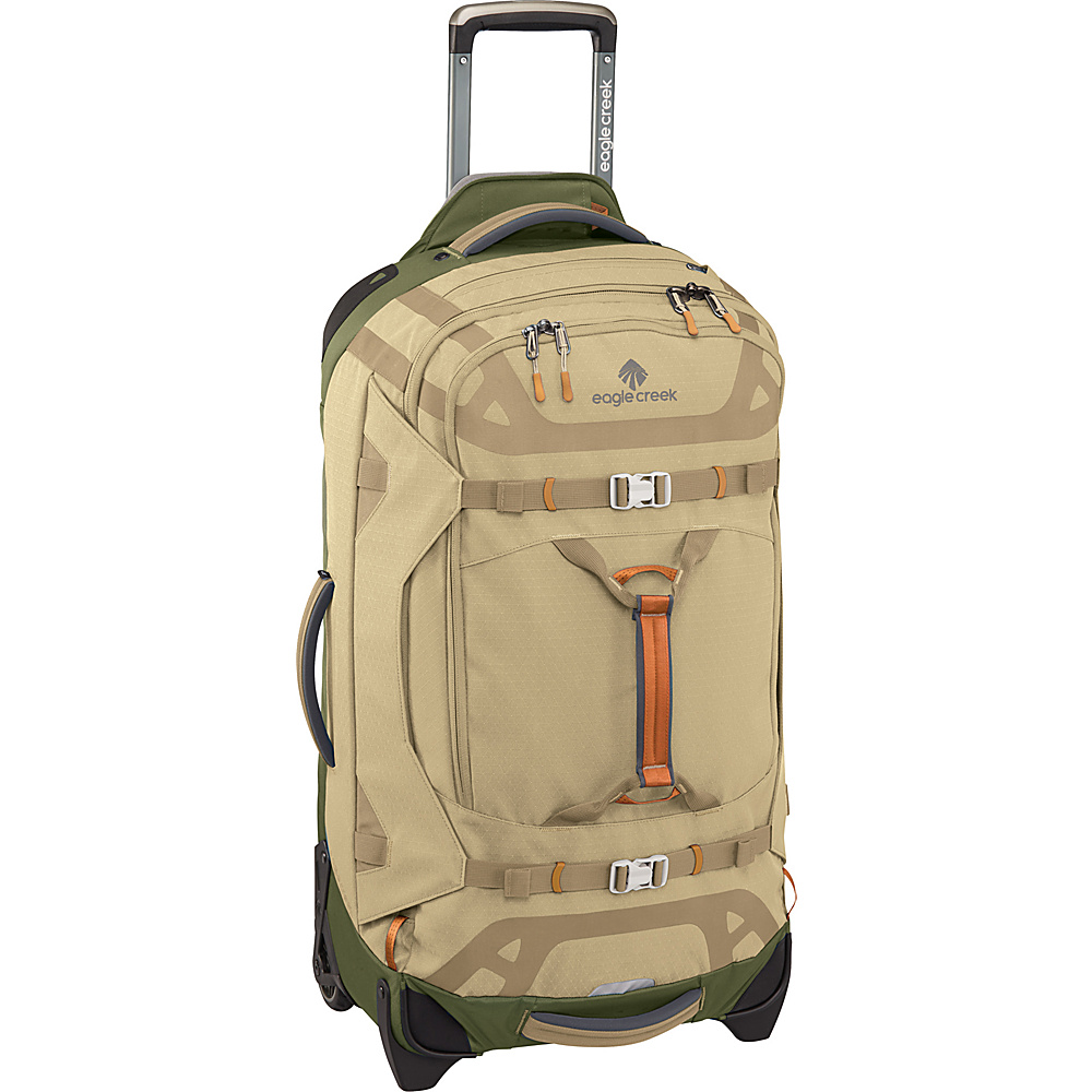 Eagle Creek Gear Warrior 29 Wheeled Duffel Bag Tan/Olive - Eagle Creek Softside Checked - Luggage, Softside Checked