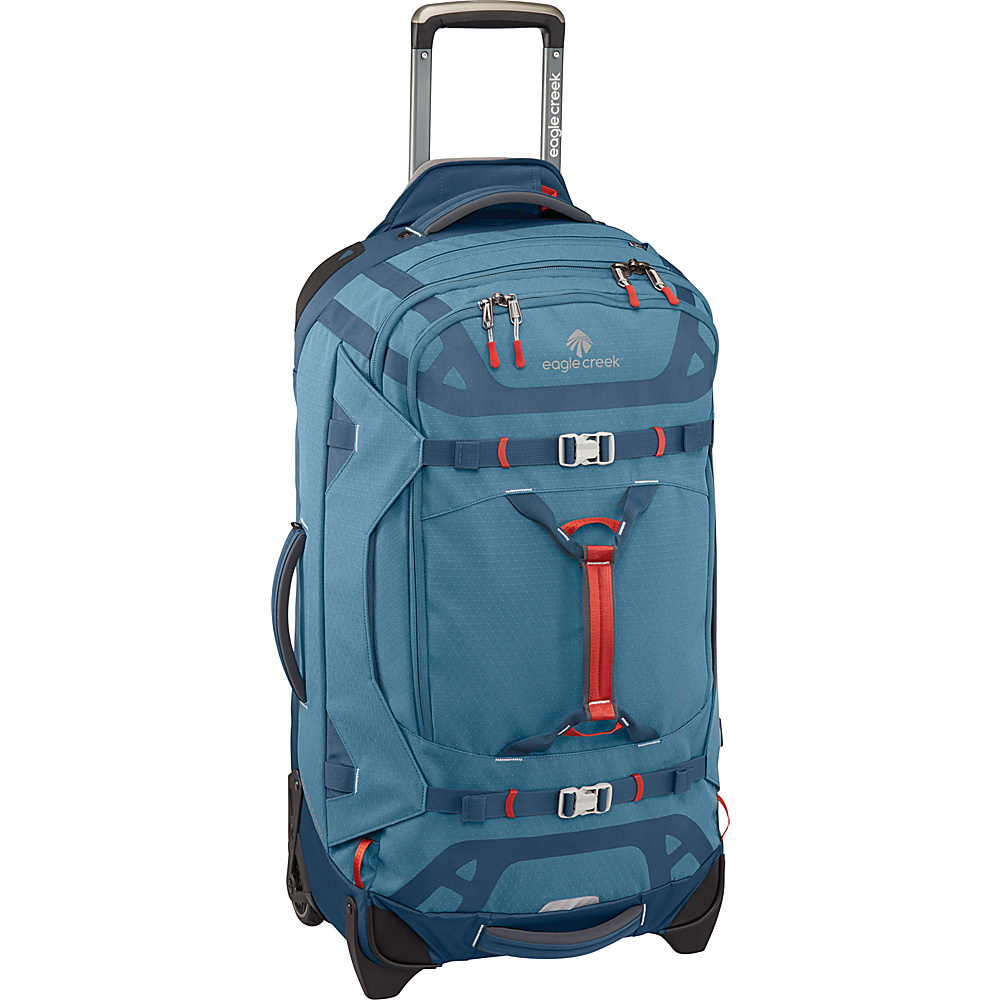 Eagle Creek Gear Warrior 29 Wheeled Duffel Bag Smokey Blue - Eagle Creek Softside Checked - Luggage, Softside Checked