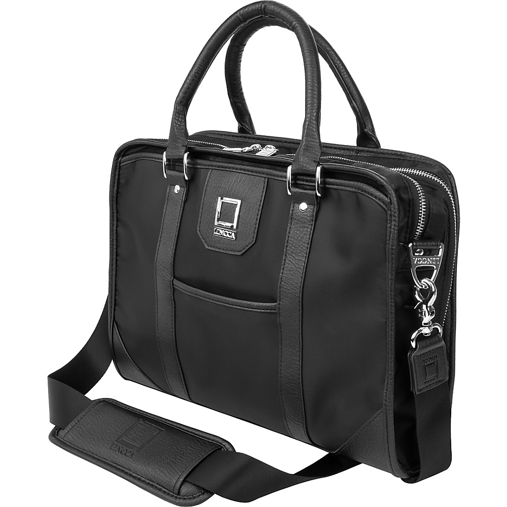 Lencca Mitam Briefcase Business Messenger Bag Black Lencca Non Wheeled Business Cases