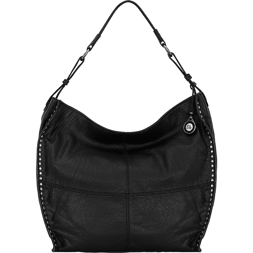 The Sak Silverlake Bucket Shoulder Bag Black The Sak Leather Handbags