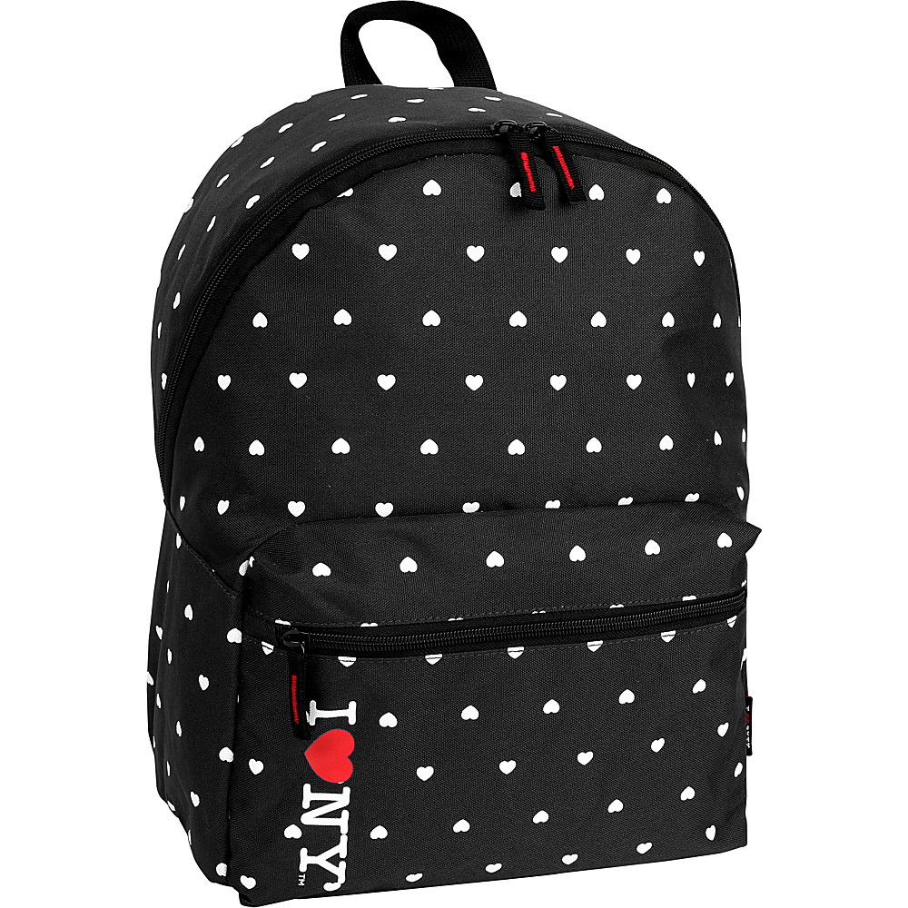 J World New York ILNY Heart Backpack Black - J World New York Everyday Backpacks - Backpacks, Everyday Backpacks