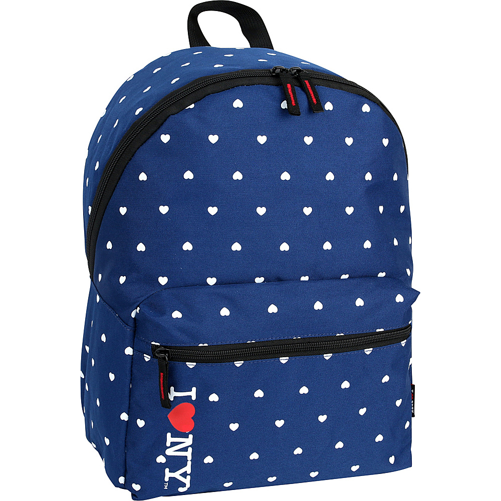 J World New York ILNY Heart Backpack Navy - J World New York Everyday Backpacks - Backpacks, Everyday Backpacks