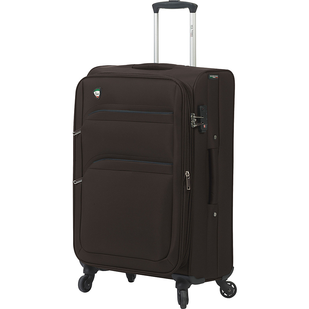Mia Toro ITALY Alagna 24 Luggage Coffee Mia Toro ITALY Softside Checked