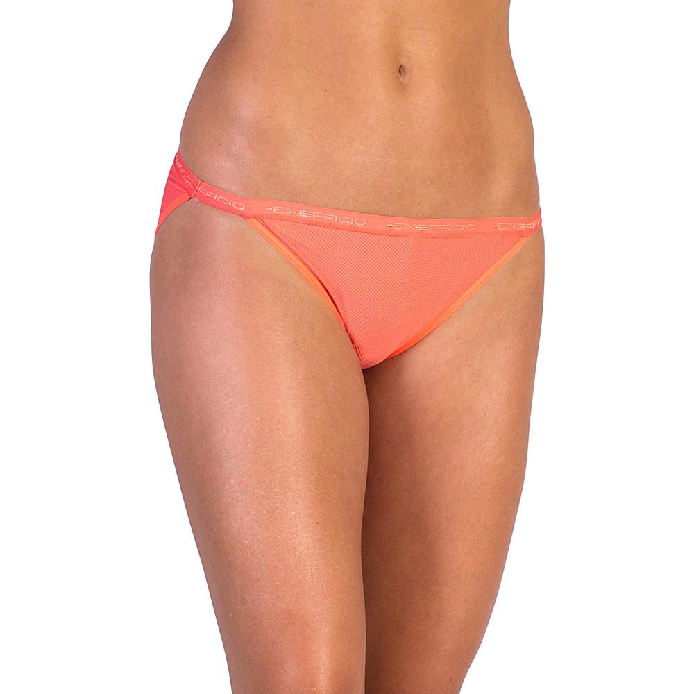 ExOfficio Give-N-Go String Bikini S - Hot Coral - ExOfficio Womens Apparel - Apparel & Footwear, Women's Apparel