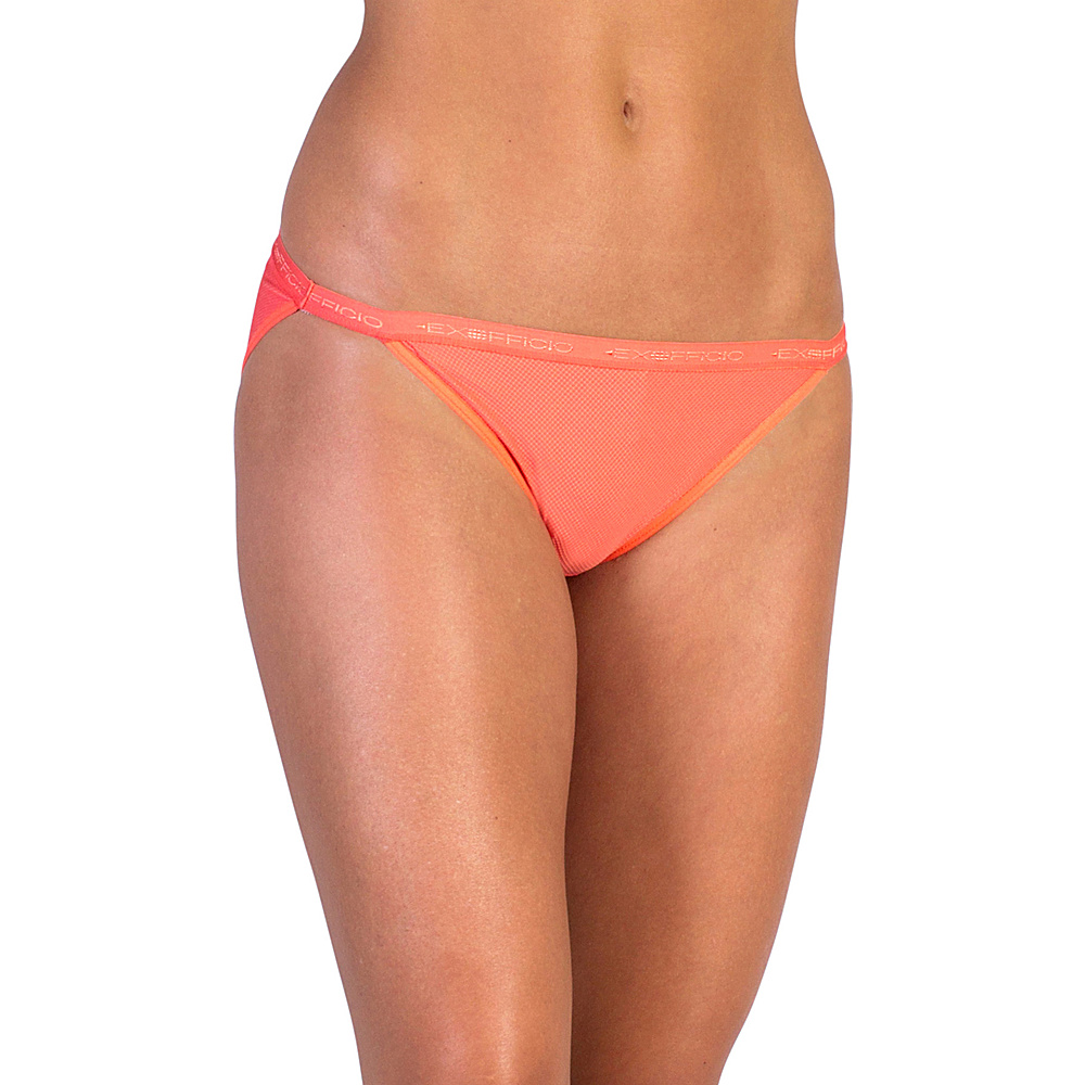 ExOfficio Give-N-Go String Bikini XL - Hot Coral - ExOfficio Womens Apparel - Apparel & Footwear, Women's Apparel