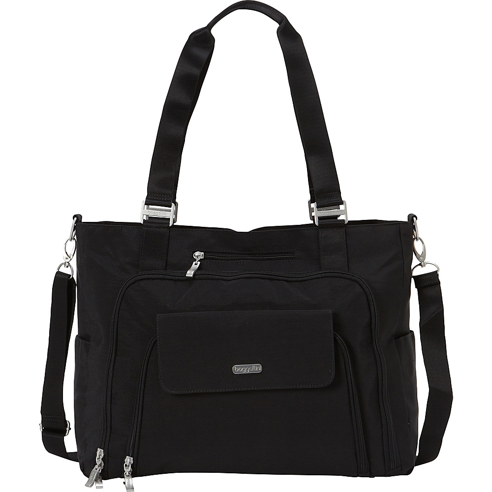 baggallini RFID Integrity Tote - Exclusive Black/Sand - baggallini Womens Business Bags - Work Bags & Briefcases, Women's Business Bags