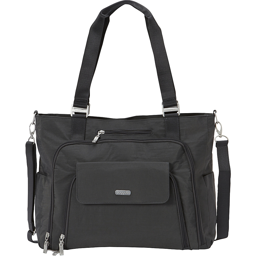 baggallini RFID Integrity Tote - Exclusive Charcoal - baggallini Womens Business Bags - Work Bags & Briefcases, Women's Business Bags