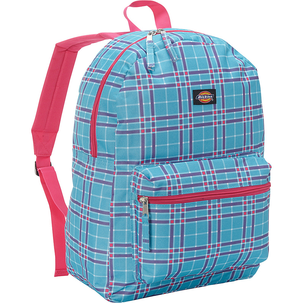 Dickies Recess Backpack Turq Pink Plaid Dickies Everyday Backpacks