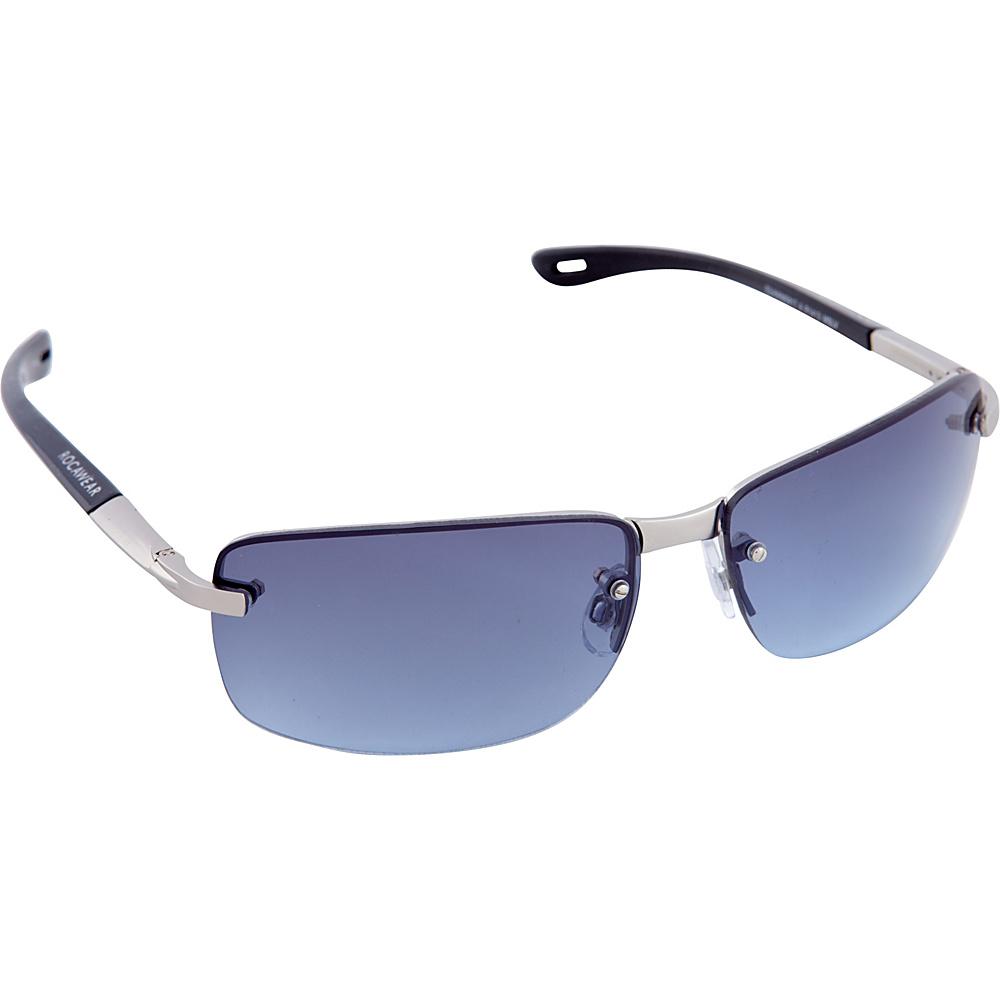 Rocawear Sunwear R1413 Men s Sunglasses Matte Silver Rocawear Sunwear Sunglasses