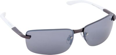 Rocawear Sunwear R1413 Men's Sunglasses Matte Gun - Rocawear Sunwear Sunglasses
