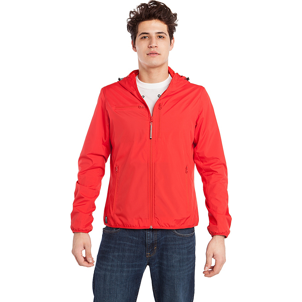 BAUBAX WINDBREAKER XL Red BAUBAX Men s Apparel