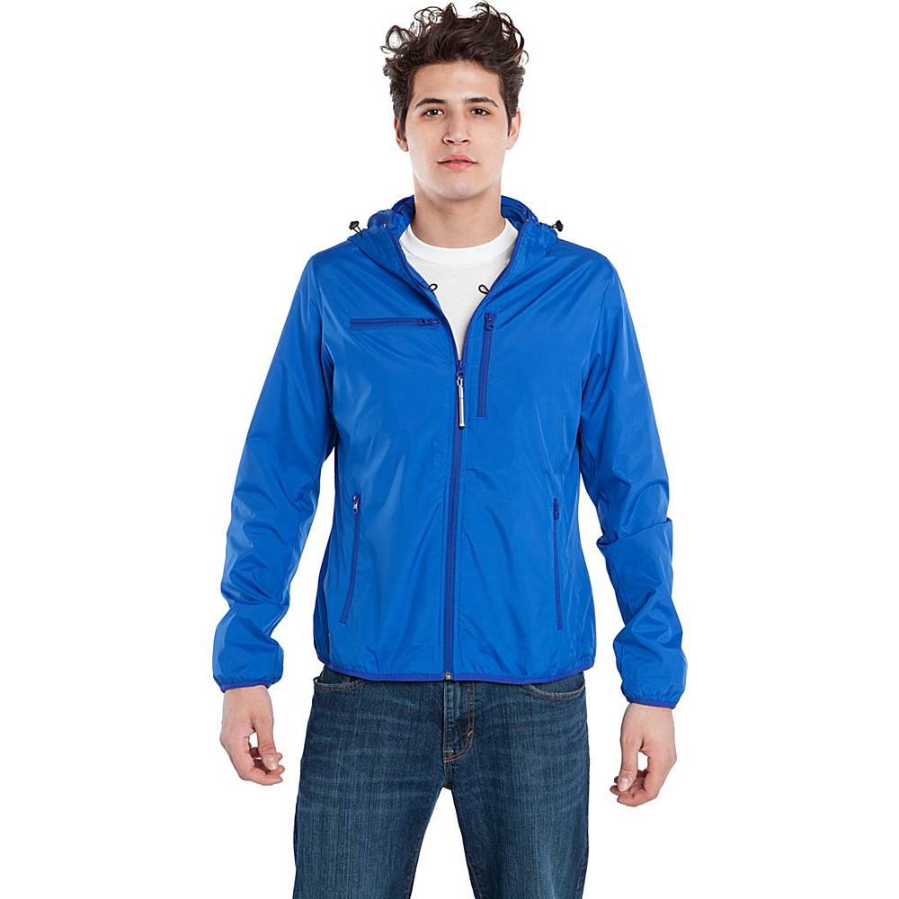 BAUBAX WINDBREAKER L Blue BAUBAX Men s Apparel