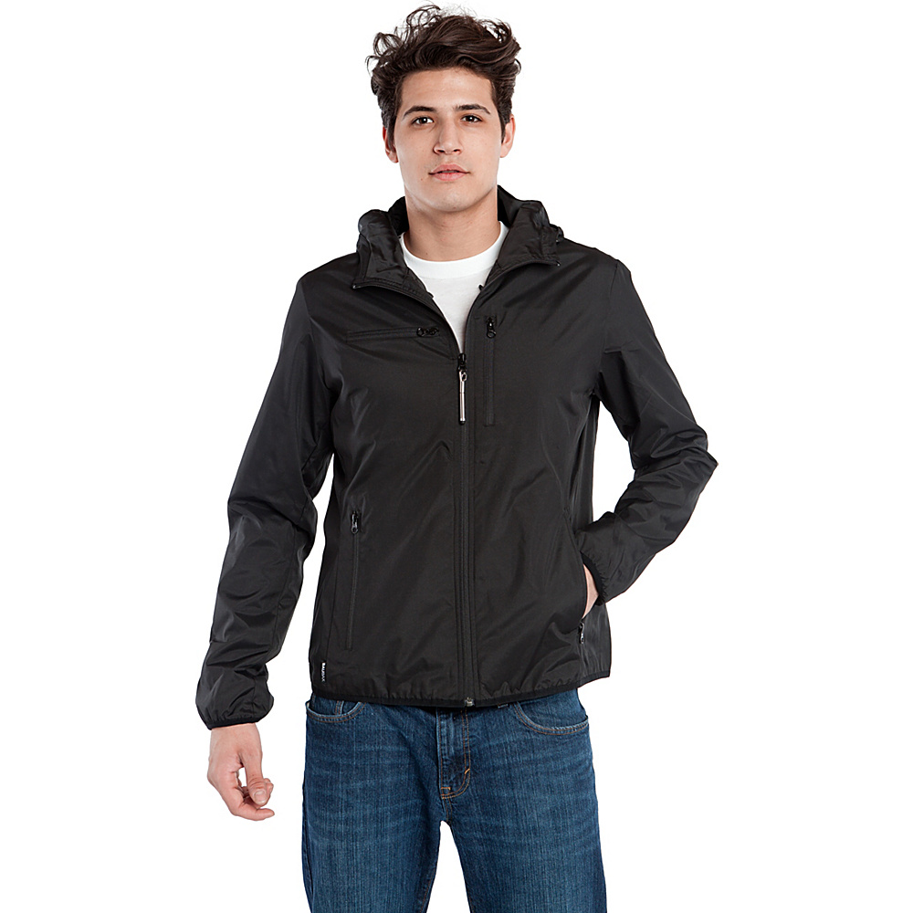 BAUBAX WINDBREAKER M Black BAUBAX Men s Apparel
