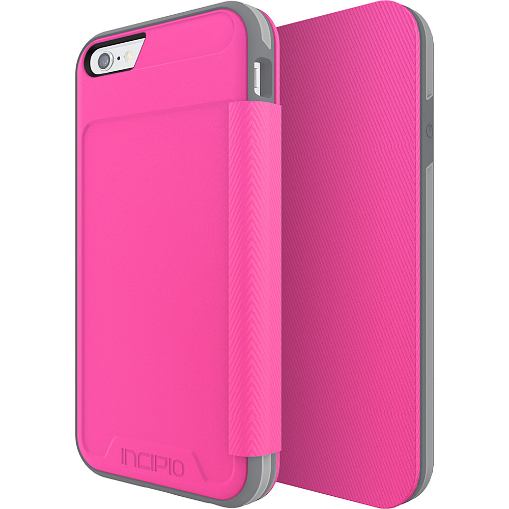 Incipio Performance Series Level 3 Folio for iPhone 6/6s Pink/Gray - Incipio Electronic Cases - Technology, Electronic Cases