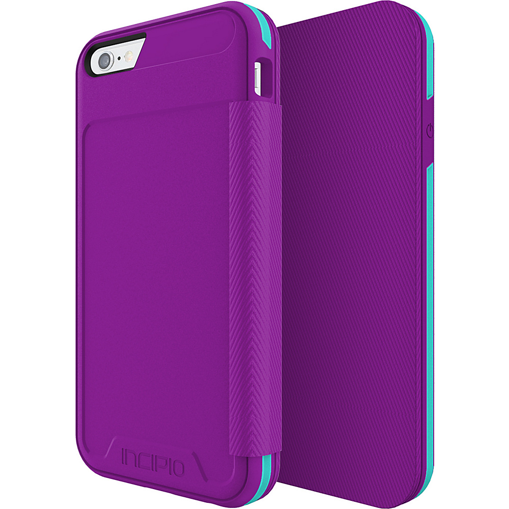 Incipio Performance Series Level 3 Folio for iPhone 6/6s Purple/Teal - Incipio Electronic Cases - Technology, Electronic Cases