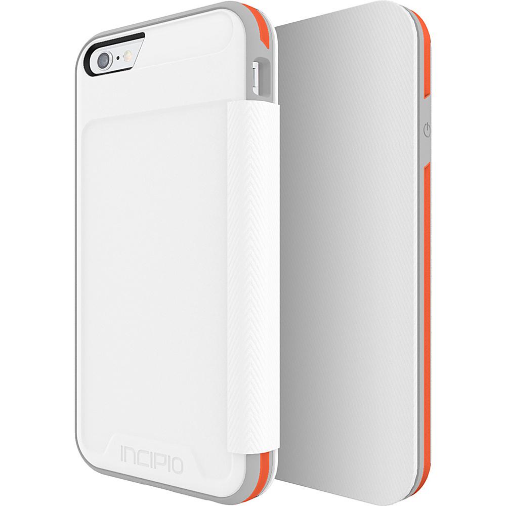 Incipio Performance Series Level 3 Folio for iPhone 6/6s White/Orange - Incipio Electronic Cases - Technology, Electronic Cases