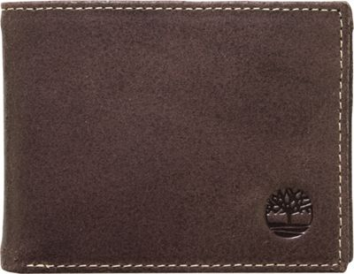 Timberland Wallets Delta Slimfold Wallet Brown - Timberland Wallets Men's Wallets