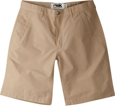 Mountain Khakis Poplin Shorts 32 - 8in - Khaki - 10W 18.5...