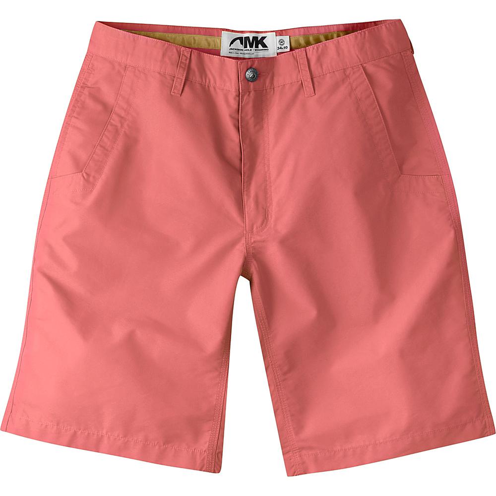 Mountain Khakis Poplin Shorts 31 - 10in - Rojo - Mountain Khakis Mens Apparel - Apparel & Footwear, Men's Apparel