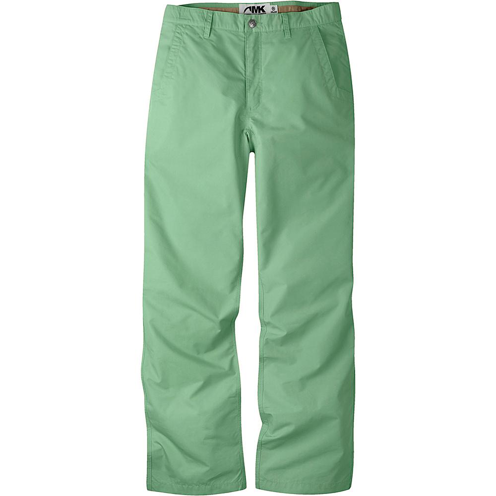 Mountain Khakis Slim Fit Poplin Pants 36 - 30in - Sage - Mountain Khakis Mens Apparel - Apparel & Footwear, Men's Apparel