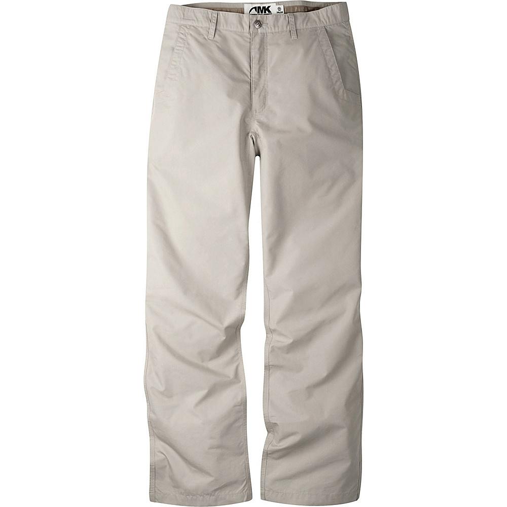 Mountain Khakis Slim Fit Poplin Pants 31 - 34in - Oatmeal - Mountain Khakis Mens Apparel - Apparel & Footwear, Men's Apparel