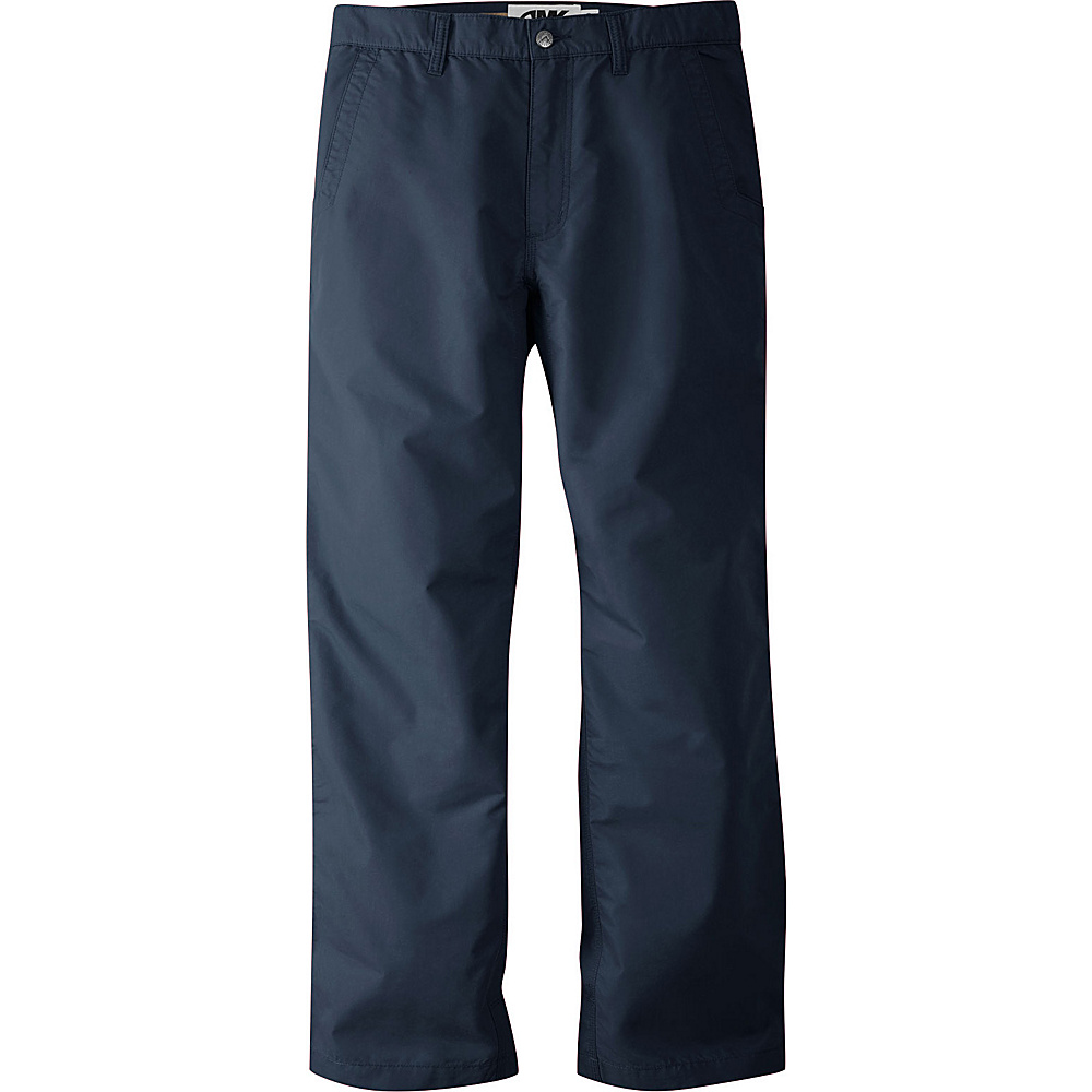 Mountain Khakis Slim Fit Poplin Pants 32 - 34in - Navy - Mountain Khakis Mens Apparel - Apparel & Footwear, Men's Apparel