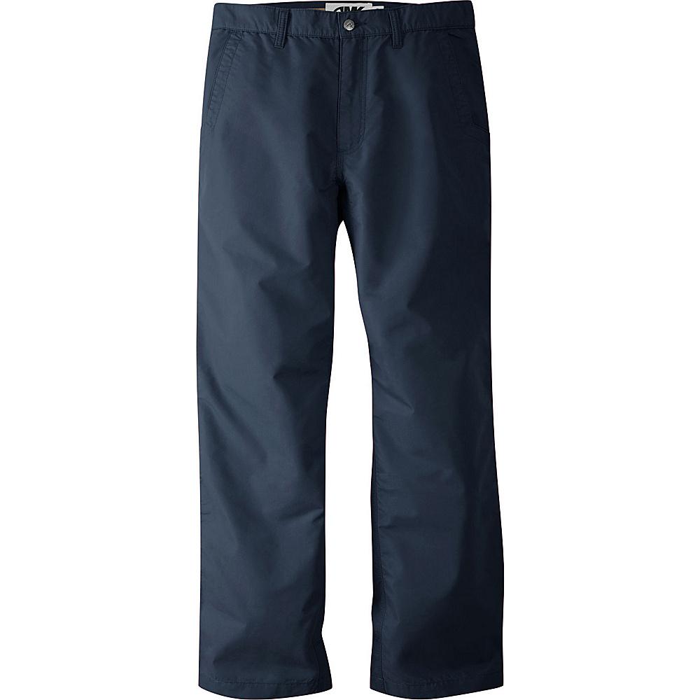 Mountain Khakis Slim Fit Poplin Pants 36 - 32in - Navy - Mountain Khakis Mens Apparel - Apparel & Footwear, Men's Apparel