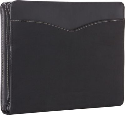 Goodhope Bags Zip-Around Padfolio Black - Goodhope Bags Business Accessories