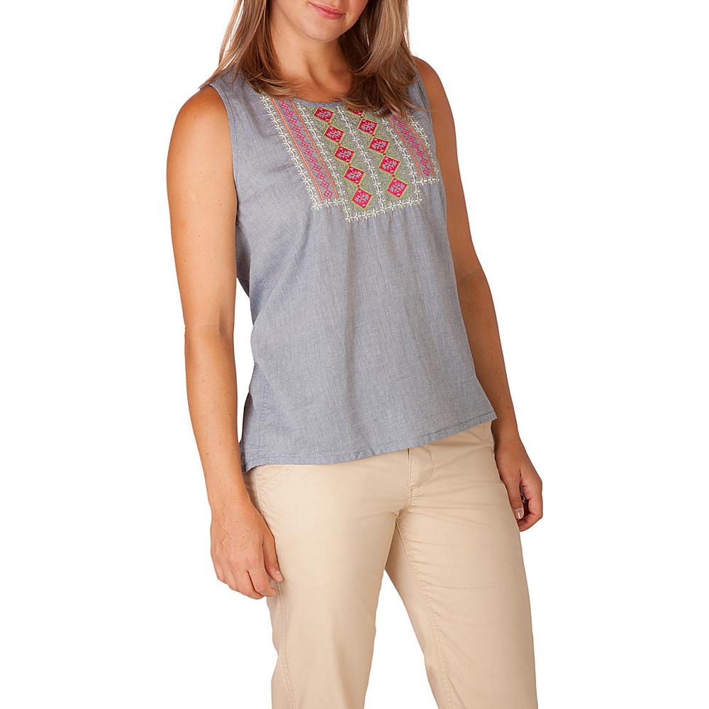 Mountain Khakis Sunnyside Tank XL - Clear Blue - Mountain Khakis Womens Apparel - Apparel & Footwear, Women's Apparel