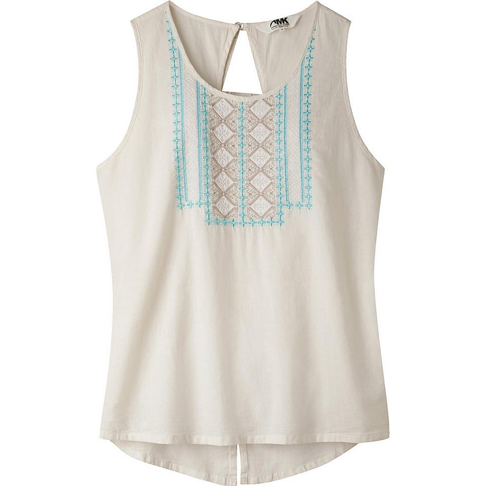Mountain Khakis Sunnyside Tank L - Cream - Mountain Khakis Womens Apparel - Apparel & Footwear, Women's Apparel