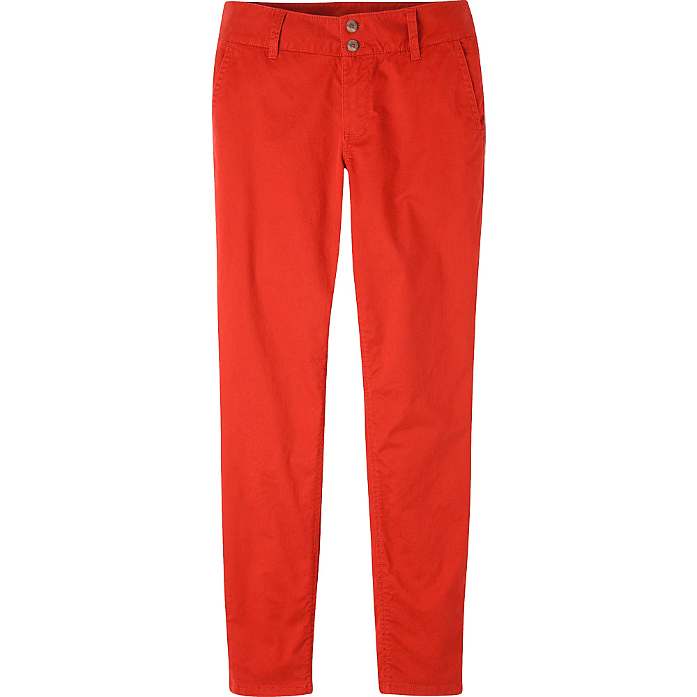 Mountain Khakis Sadie Skinny Chino Pant 12 - Regular - Tomato - Mountain Khakis Womens Apparel - Apparel & Footwear, Women's Apparel