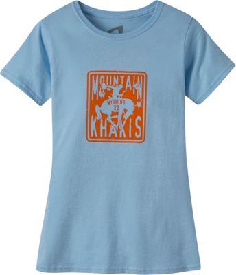 Mountain Khakis Wyoming 22 Short Sleeve T-Shirt S - Blue Sky - Mountain Khakis Women's Apparel