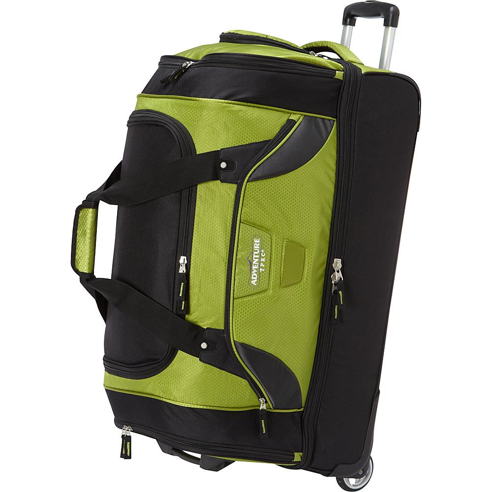 Rolling drop bottom duffel bag