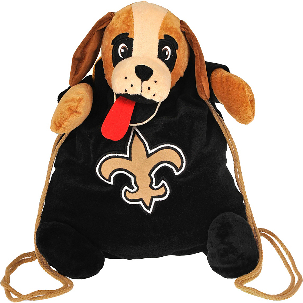 Forever Collectibles NFL Backpack Pal New Orleans Saints Gold Forever Collectibles Everyday Backpacks