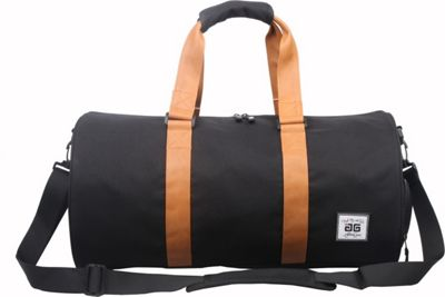 Image of AfterGen Sports Duffel Black - AfterGen All Purpose Duffels