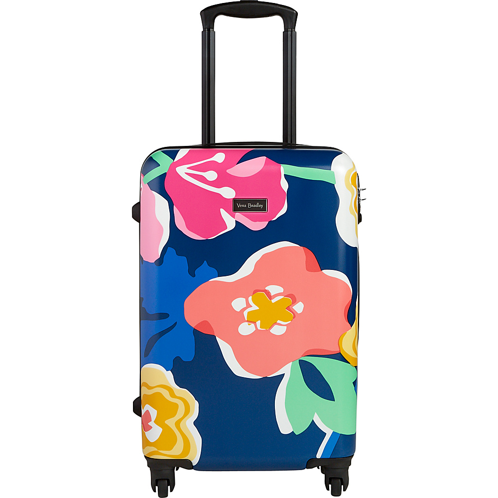 Vera Bradley Small Hardside Spinner Grande Santiago Floral - Vera Bradley Hardside Carry-On - Luggage, Hardside Carry-On