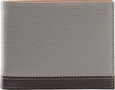 TUSK LTD Madison Billfold Wallet Grey/Black - TUSK LTD Men's Wallets