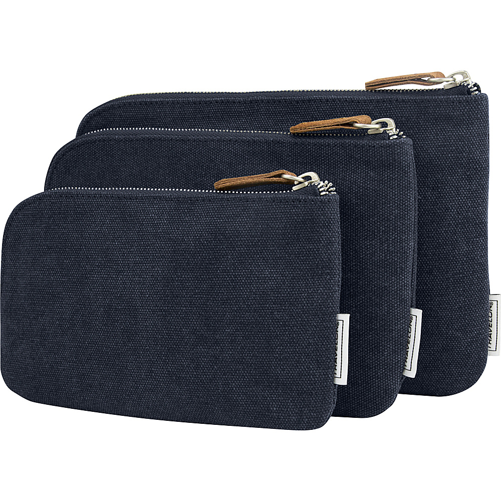 Travelon Heritage 3 Packing Pouches Indigo - Travelon Travel Organizers - Travel Accessories, Travel Organizers