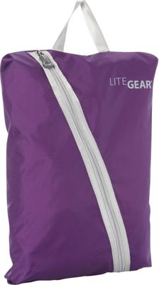 Lite Gear Shoe Bag Purple - Lite Gear Travel Organizers