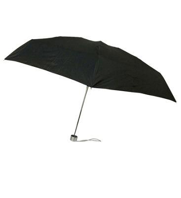 London Fog Umbrellas Ultra Mini Manual Umbrella Black - London Fog Umbrellas Umbrellas and Rain Gear