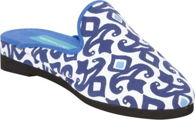 Needham Lane Hadley Slip-Ons L - Blue - Large - Needham Lane Women's Footwear